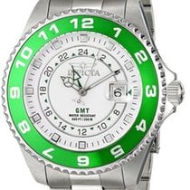 Invicta PRO DIVER SWISS QUARTZ GMT MM.47 20ATM DATA  Cod. IN02