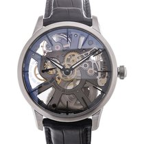 Maurice Lacroix Masterpiece 43 Skeletonized Black Strap