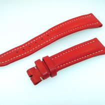 Breitling Band 19mm Red Roja Calf Strap Ib19-14