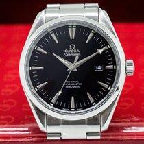 Omega 2502.50.00 2502.50.00 Aqua Terra Large Black Dial SS...