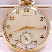 Tiffany & Co Very Rare 14k Yellow Gold Vintage Pocket Watch...