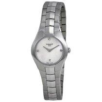 Tissot Ladies T0960091111600 T-Lady  T-Round 4 Diamonds Watch
