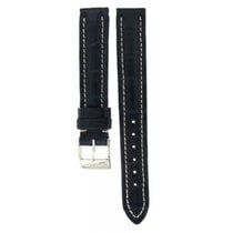 Breitling Navy Blue Crocodile Leather Strap 241p 15mm/14mm