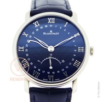 Blancpain Villeret Seconde Retrograde Ultraslim New - Full Set Ne
