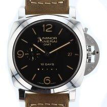 Panerai Luminor 1950 10 Days GMT Automatic Acciaio  Mens Watch...