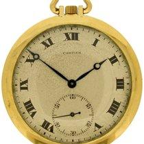Cartier 18k pocketwatch