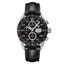 TAG Heuer Carrera Black Dial Automatic Chronograph Men's...