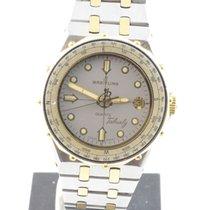 Breitling Tabarly Herren Uhr Vintage Uhr Stahl/gold Ref. 80770