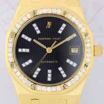 Audemars Piguet Royal Oak 18K Gold Automatik Diamond black...