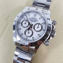 Rolex DAYTONA Stainless Steel Watch White Dial Box/Papers