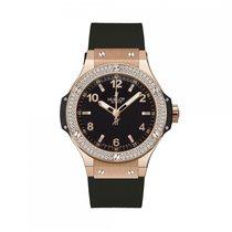 Hublot Big Bang Gold Diamonds Ladies Watch 361.PX.1280.RX.1104