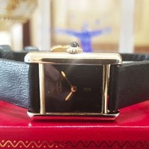 Cartier Must De Cartier Vermeil Gold Sterling Silver Watch
