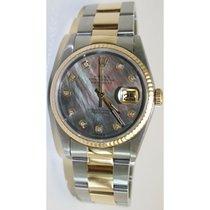 Rolex Datejust 68273 Midsize Steel & 18K Yellow Gold...