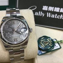 Rolex Cally - 178240 31mm Datejust Grey Flower Dial [NEW]