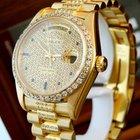 """Rolex Day Date18 Karat/"""" DIA Vintage Einzelstück """" aus..."""
