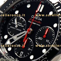 Omega Seamaster Diver Co-Axial 300m Black Dial Ref.21230445001001