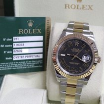 Rolex Datejust II 116333 Two Tone 18K Yellow Gold & Stainless