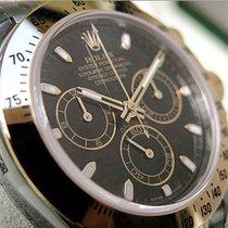 Rolex Daytona 116503 Mens Steel & Yellow Gold Oyster Black...