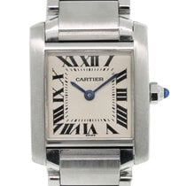 Cartier Tank Francaise W51008Q3 Stainless Steel Ladies Watch