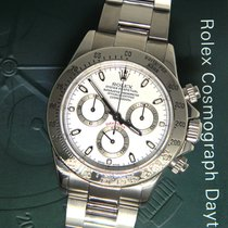 Rolex Daytona Chronograph Steel White Dial Mens Watch Box/Pape...