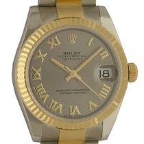 Rolex Datejust Medium Stahl Gelbgold Automatik Oyster Armband...