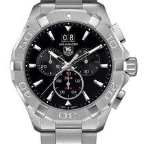 TAG Heuer Aquaracer 300M Chronograph Black Dial Data CAY1110BA...