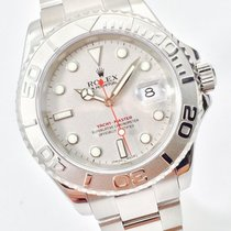 Rolex Yachtmaster Stahl Rolesium Platin Rolesium 40mm LC100 TOP