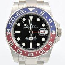 Rolex GMT Master II Whitegold REF116719 BLRO NEU