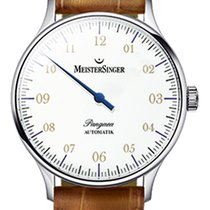 Meistersinger Pangaea - PM 901 - 40mm - White Dial