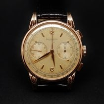 Longines Chronographe Flyback Or rose 18k Mécanique Vers 1945