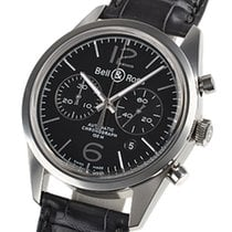 Bell & Ross BR 126 Officer Black BRG126-BL-ST/SCR
