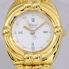 Chopard Gstaad Ladies Luxus Uhr Gelbgold Goldband Top Klassiker