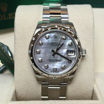 Rolex Cally - 31MM Datejust Lady 178344 White MOP 貝殼面(Oyster)