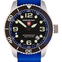 Swiss Military Cx Swiss Military Marlin Scuba Swiss Watch Blue...