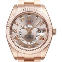 Rolex Used 326935_Roseroman_used Sky Dweller 42mm in Rose Gold...