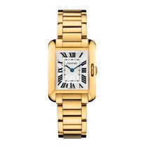 Cartier Tank Anglaise Quartz Ladies Watch Ref W5310014