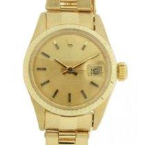 Rolex Datejust Lady 6917 In Oro Giallo, 26mm