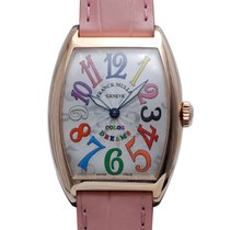 Franck Muller CINTRÉE CURVEX Color Dream 18K Pink Gold 7502QZ...
