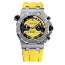 Audemars Piguet Royal Oak Offshore Diver Chronograph Yellow Watch