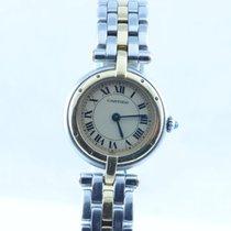 Cartier Panthere Ronde Vendome Quartz Damen Uhr 22mm Stahl/18k...