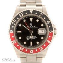 "Rolex GMT Master II - 16710 Stahl ""Coke"" K-Serie..."