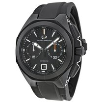 Girard Perregaux Chrono Hawk Ceramic rubber NEW