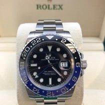 "Rolex GMT-Master II ""Batman"" Stainless Steel - 116710BLNR"
