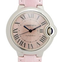 Cartier Ballon Bleu Stainless Steel Pink Automatic WSBB0002