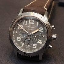 Breguet Type XX - XXI - XXII Brown Strap Chronograph 3817STX23ZU