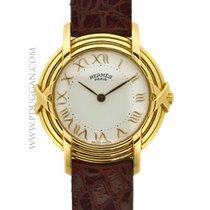 Hermès 18k yellow gold ladies Classic watch