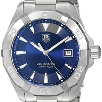 TAG Heuer Aquaracer Blue Dial Brushed Steel Quartz Watch...