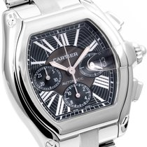 Cartier Steel XL Roadster Chronograph 2618 model - 48mm