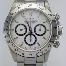 Rolex Daytona Stainless Steel White Dial REF:16520
