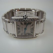Cartier Tank Frances Diamantes